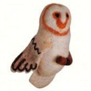 - DZI BARN OWL WOOLIE ORNAMENT