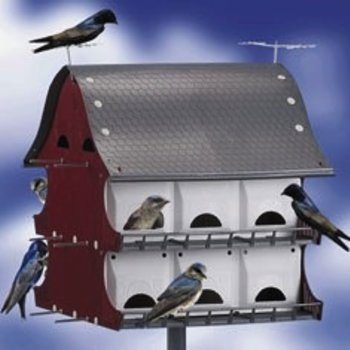 MULTI FAMILY MARTIN & COLONY BIRD HOUSE