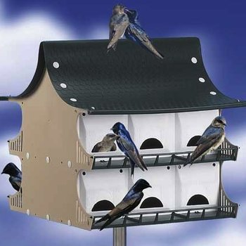 MULIT FAMILY MARTIN & COLONY BIRD HOUSE