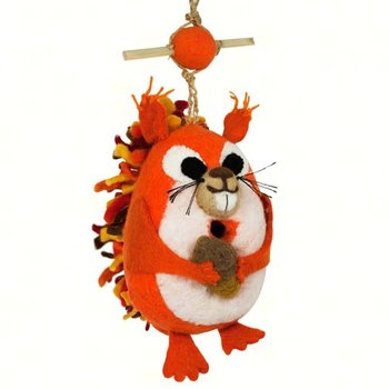 DECORATIVE ROOSTING BIRD HOUSE