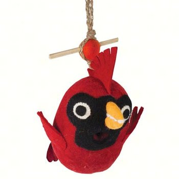 - DECORATIVE ROOSTING BIRD HOUSE