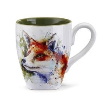 - DEMDACO FOX COFFEE MUG 16OZ