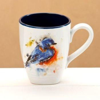 - DEMDACO BLUEBIRD COFFEE MUG 16OZ