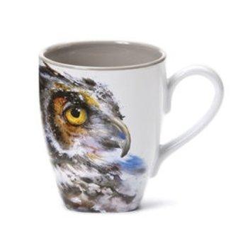 - DEMDACO OWL COFFEE MUG 16OZ