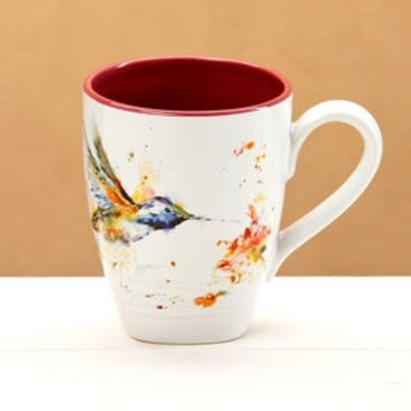 - DEMDACO HUMMINGBIRD COFFEE MUG 16OZ