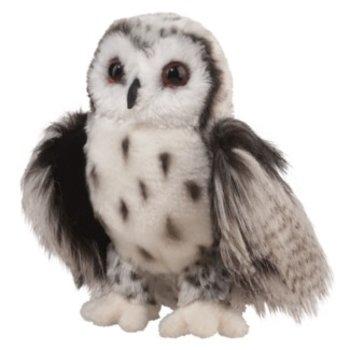 SILVER OWL PLUSH