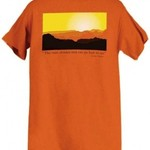 LIBERTY GRAPHICS MUIR SUN TSHIRT BURNT ORANGE DISCONTINUED