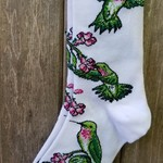 FOR BARE FEET RUBY HUMMINGBIRD WHITE MEDIUM