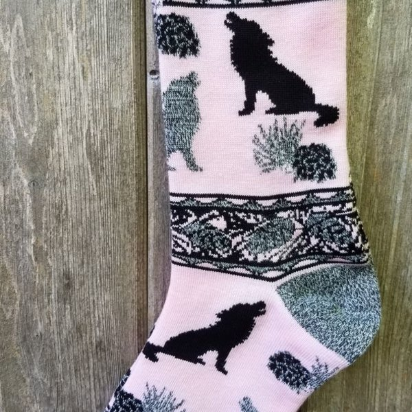 FOR BARE FEET PINK WOLF MEDIUM