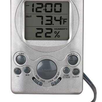 - DIGITAL IN/OUT THERMOMETER