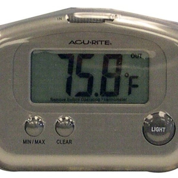 - ACCURITE DIGITAL INSIDE/OUT THERMOMETER