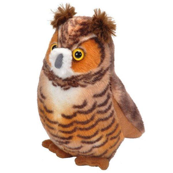 - WILD REPUBLIC AUDUBON BIRDS GREAT HORNED OWL