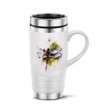 - DEMDACO DRAGONFLY TRAVEL MUG 14OZ