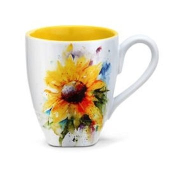 - DEMDACO SUNFLOWER COFFEE MUG 16OZ