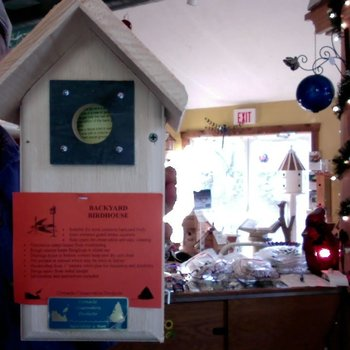 - COVESIDE BACKYARD BIRDHOUSE