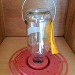 - BEST-1 8OZ HUMMINGBIRD FEEDER