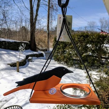 "- HILLTOP ""MR. ORIOLE"" JELLY FEEDER"