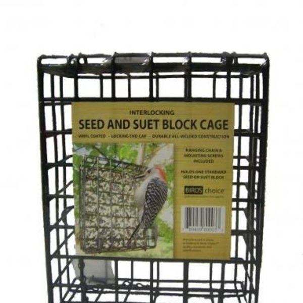 - BIRDS CHOICE LARGE SUET & SEED CAKE CAGE