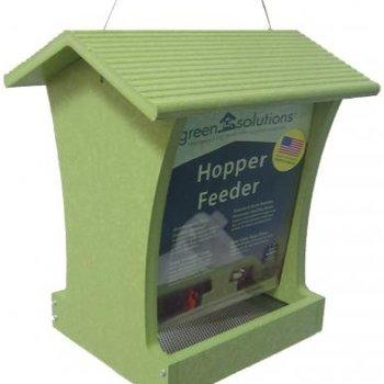 - BIRDS CHOICE 5QT. GREEN TALL HOPPER FDR