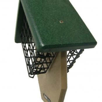 - BIRDS CHOICE RECYCLED DBL TAIL PROP SUET FEEDER
