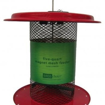 -BIRDS CHOICE 5QT. MESH SUNFLOWER FEEDER