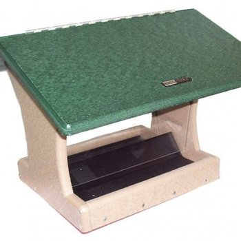 - BIRDS CHOICE RECYCLED 7 QT. 2-SIDED HOPPER FEEDER