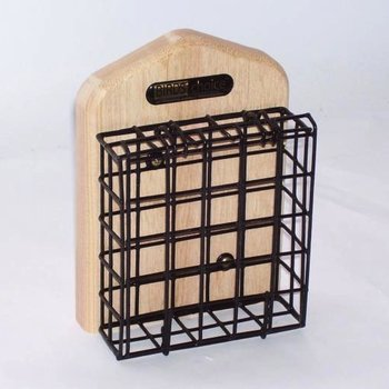 - BIRDS CHOICE CEDAR WALL-MOUNT SUET FEEDER