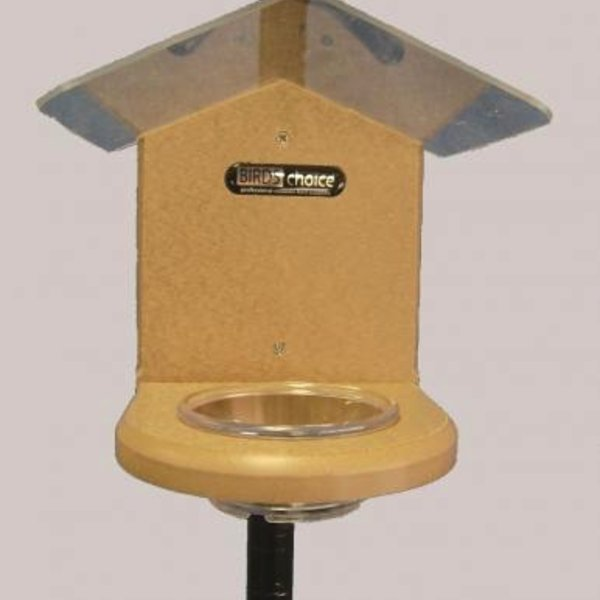 - BIRDS CHOICE RECYCLED POLE MOUNTED MEALWORM FEEDER