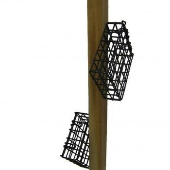 - BIRDS CHOICE CEDAR  STICK W/2 SUET CAGES