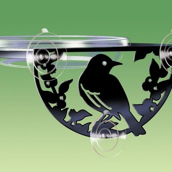 - DROLL YANKEES WINDOW MOUNT SONGBIRD FEEDER