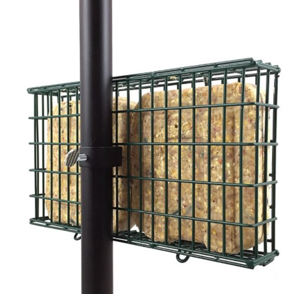 - DROLL YANKEES EZ FILL DOUBLE SUET FDR W/POLE CLAMP