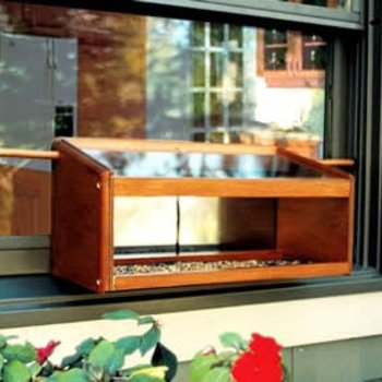 - COVESIDE MIRRORED WINDOWSILL FEEDER