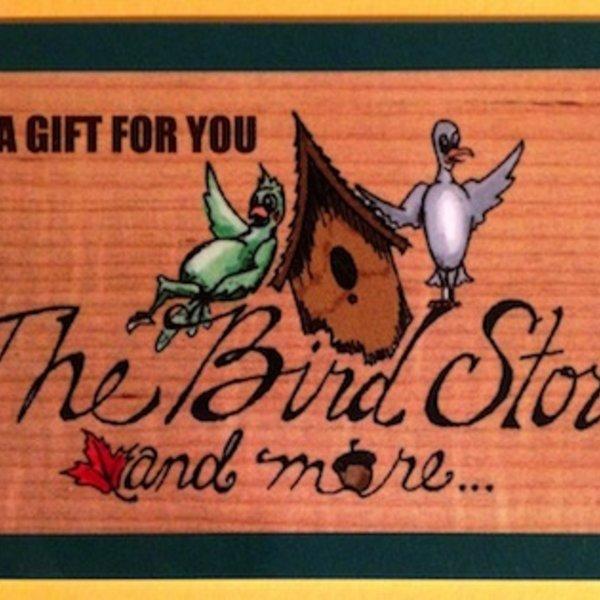 -BIRD STORE GIFT CARD- 50.00