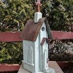 - NATURE CREATIONS BARN WOOD CHURCH SAGE W/TIN ROOF
