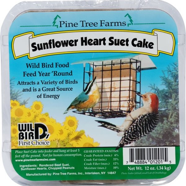 - PINE TREE SUNFLOWER HEART SUET
