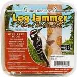 - PINE TREE LOG JAMMER PEANUT BUTTER SUET