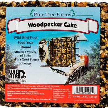 - PINE TREE 2.5LB. WOODPECKER SEED CAKE