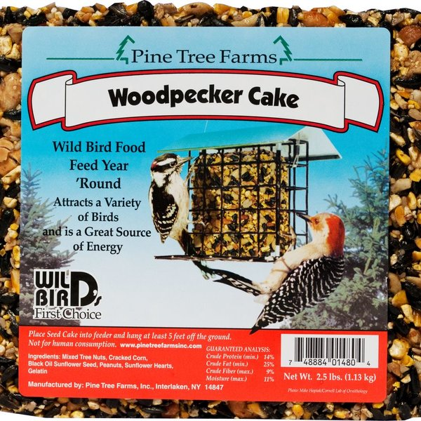 - PINE TREE 2.5LB. WOODPECKER SEED CAKE