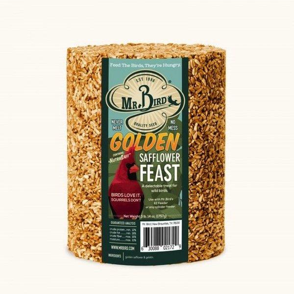 - MR BIRD GOLDEN SAFFLOWER FEAST 72 OZ.