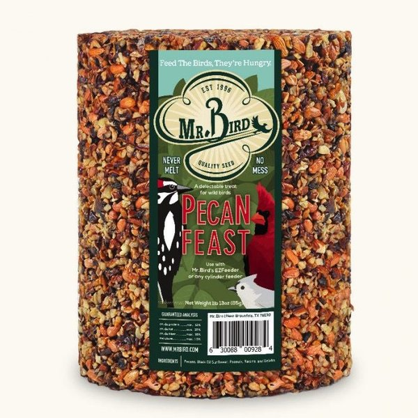 - MR BIRD PECAN FEAST 72 OZ