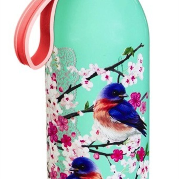 - EVERGREEN BIRDS & BLOSSOM STAINLESS WATER BOTTLE