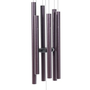"- MAJESTY BELLS GENTLE SPIRITS CHIMES 29"" PLUM"