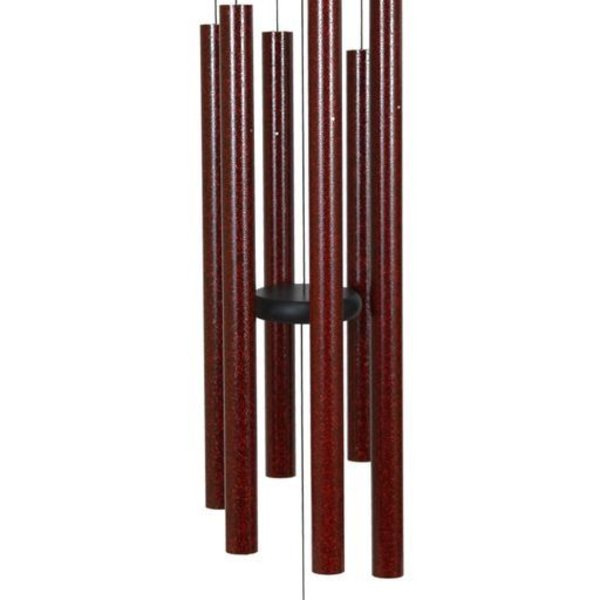 "- MAJESTY BELLS VIENNA CHIMES 36"" RUBY SPLASH"