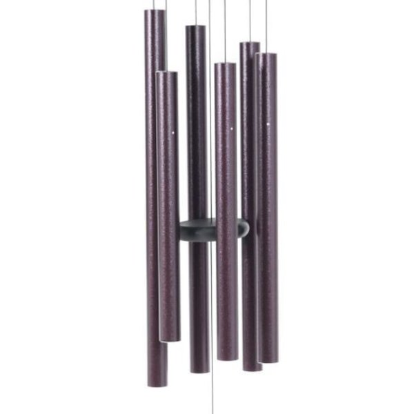 "- MAJESTY BELLS GENTLE SPIRITS CHIMES 44"" PLUM"