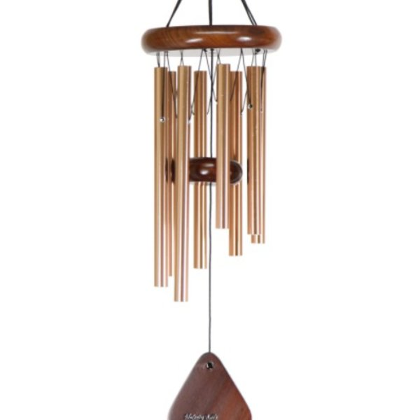 "- MAJESTY BELLS  HARDWOOD  21"" BRONZE WALNUT"
