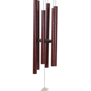 "- MAJESTY BELLS VIENNA CHIMES 44"" RUBY SPLASH"