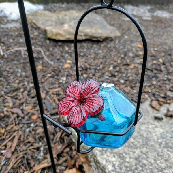 - PARASOL LUNCH PAIL 3 OZ. GLASS HUMMINGBIRD FEEDER  SINGLE