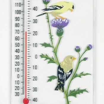 - ASPECTS GOLDFINCH PAIR THERMOMETER