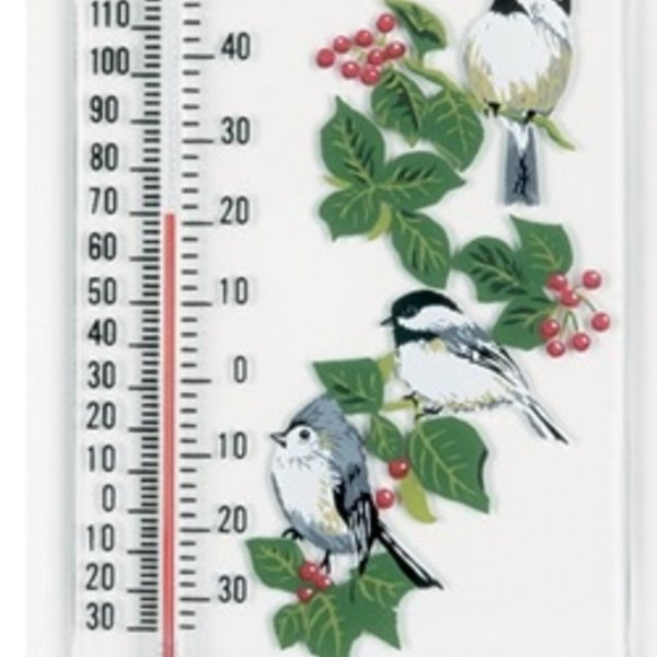 - ASPECTS TITMOUSE AND CHICKADEES WINDOW THERMOMETER