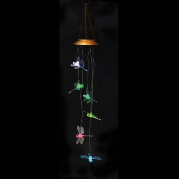 - EVERGREEN DRAGONFLY SOLAR MOBILE WINDCHIME